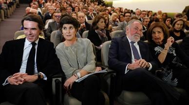 """Aznar alerta d'una triple """"desvertebració"""" d'Espanya"""