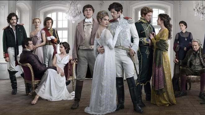 Imagen promocional de la miniserie de la BBC 'Guerra y paz'.