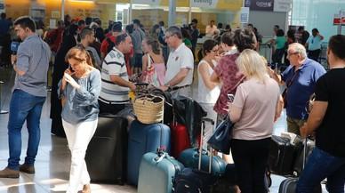 Nova jornada d'endarreriments i anul·lacions de Vueling al Prat