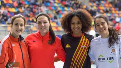 Ingrid Andrés, de Parets, corre aquest cap de setmana al campionat d'Espanya 'indoor' promesa