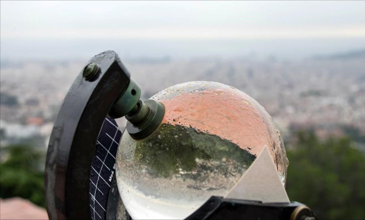 Barcelona registra el octubre con menos horas de sol desde 1968