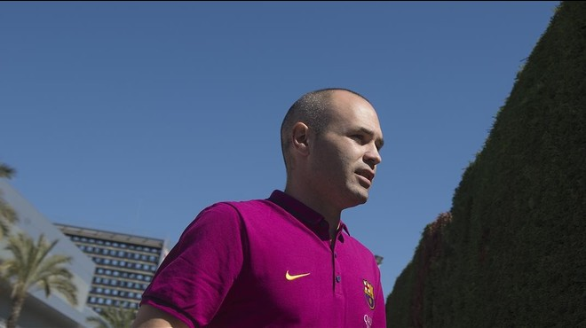 "Iniesta: ""Serà un partidàs"""