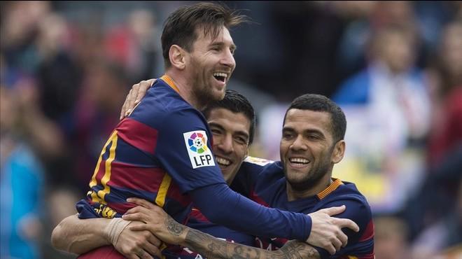 Messi sí que vol la Lliga