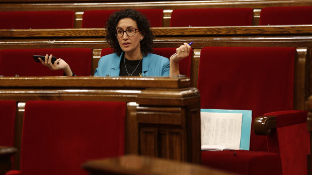 Marta Rovira assegura que el Govern de Mariano Rajoy va amenaçar amb usar armes de foc contra la població