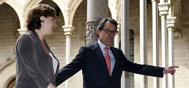 Mas y Colau se reúnen este jueves con la deuda del Govern sobre la mesa