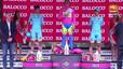 Mikel Landa, criticat per no treure's la gorra durant l'himne espanyol