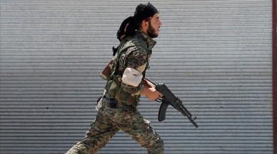 Las fuerzas antiyihadistas avanzan en su conquista de Raqqa