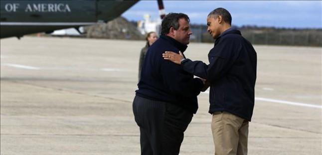 Obama llega a Nueva Jersey para visitar las zonas afectadas por 'Sandy'
