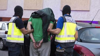 Operaci�n antiyihadista en Melilla, el pasado septiembre.
