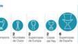 Puyol, el tercer futbolista espanyol més llorejat