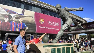 Qatar vuela de la camiseta del Barça