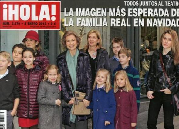 La Reina, Letizia, las infantas y sus hijos protagonizan las portadas del corazón