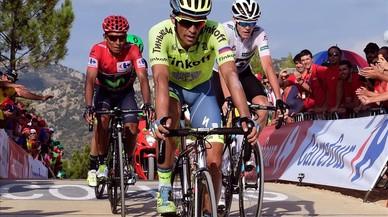 Contador es diverteix, Quintana controla i Froome resisteix a la Vuelta