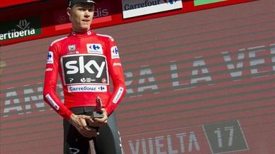 Froome ja és líder de la Vuelta a Espanya davant el drama de Contador