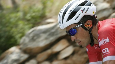 Alberto Contador es manté viu a la Vuelta a Espanya