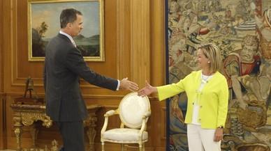 Rajoy reuneix el seu equip per transmetre confiança però sense explicar-los el seu pla
