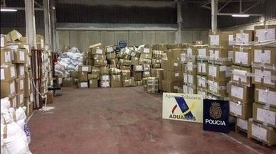 71 detinguts per importar productes falsificats per la Jonquera