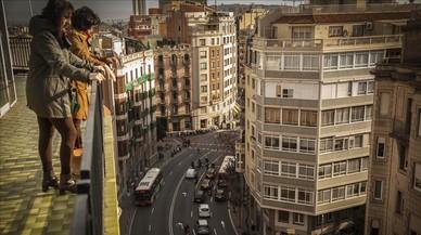 BCN reducirá carriles de la avenida del Príncipe d'Astúries para priorizar al peatón