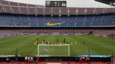 El Barça guanya en silenci (3-0)