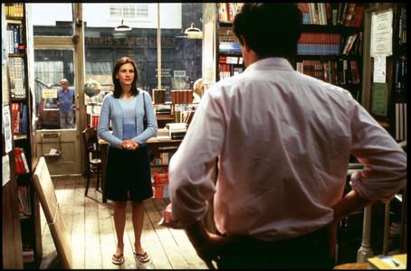 Una escena de la pel·lícula 'Notting Hill' amb Julia Roberts i Hugh Grant.