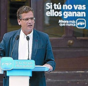 El lema actual del PP vasco y el eslogan que utiliz el PSC en las elecciones generales del 2008.