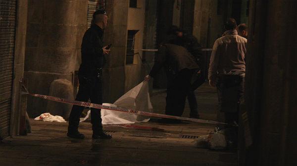 Un mort i un ferit per un doble apunyalament a Ciutat Vella