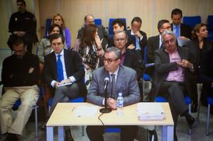 Diego Torres declarando en el juicio por el caso Nóos