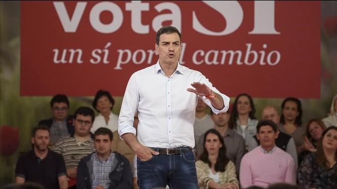 Sánchez reivindica el passat del PSOE com a valor segur davant Iglesias