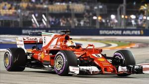 Vettel, una pole muy importante en Singapur