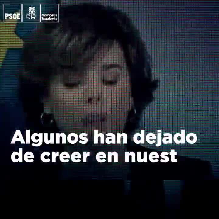 El PSOE presenta el vídeo Ara, el teu país