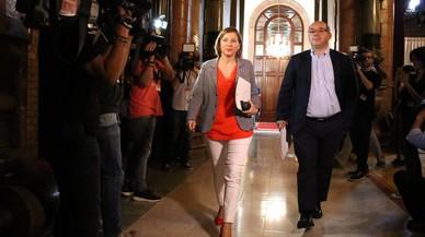"""Forcadell titlla de """"cop d'Estat 'de facto'"""" les mesures de l'article 155 de Rajoy"""