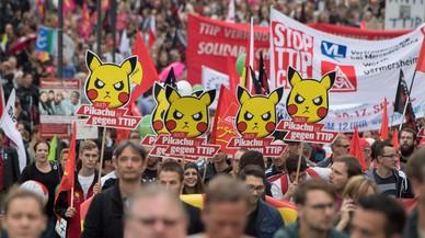 Alemanya es mobilitza contra el TTIP