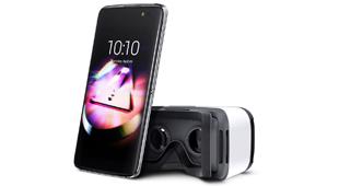 Alcatelonetouch recupera tono con Idol4, m�vil para realidad virtual