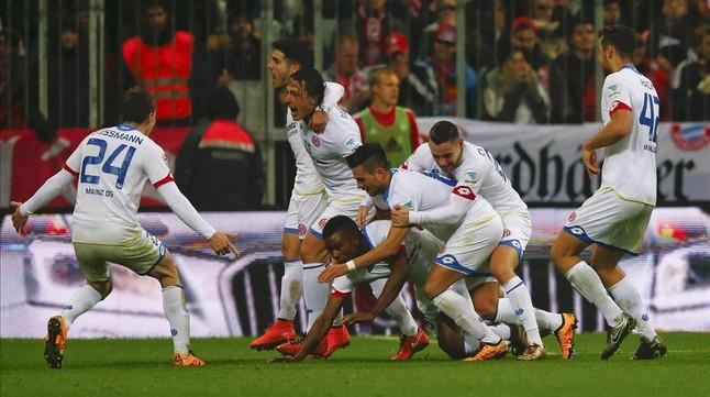 El Mainz sorprende al Bayern y reabre la Bundesliga