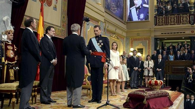 """El Rei: """"A l'Espanya unida i diversa hi cabem tots"""""""