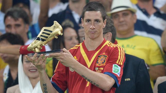 Torres gana la bota de oro como mejor goleador for Que es una beta de oro