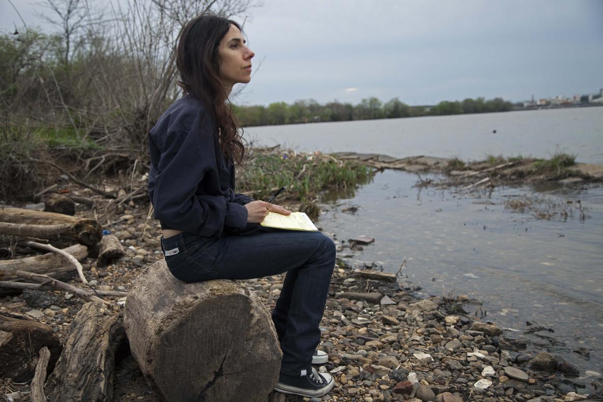 PJ Harvey, fotografiada en las cercanías de Washington DC en el 2014.