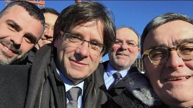 Puigdemont s'estrena a Lleida