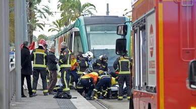 Mor una dona atropellada per un tramvia a la Diagonal