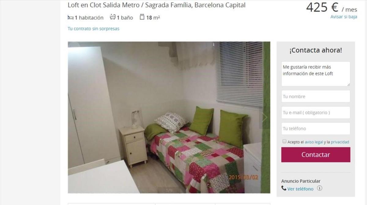 Qui N Paga Mil Euros De Alquiler Por 50 Metros Cuadrados