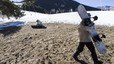 Las estaciones de esqu� salvan la temporada con nieve artificial
