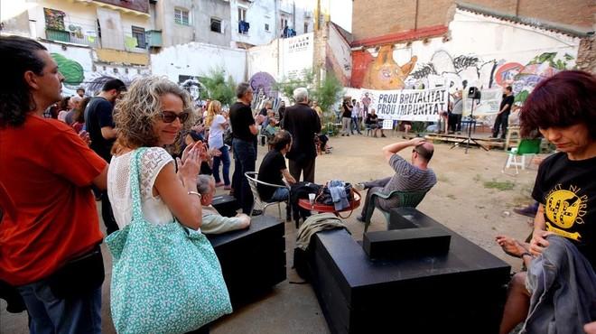 Protesta contra la impunidad policial tras los casos Benítez y Quintana