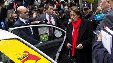 Rita Barberá mor d'un infart en un hotel de València