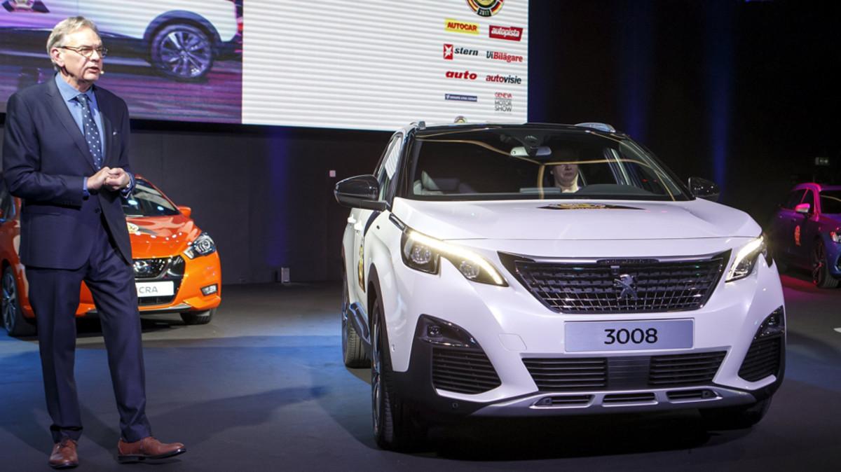 El Peugeot 3008 elegido mejor 'Coche del Año 2017'