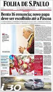 """La prensa internacional destaca """"la delicada situación"""" en que la que el Papa deja a la Iglesia"""