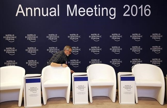 Drones sobre Davos