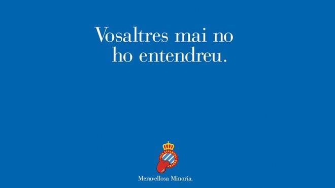 L'Espanyol apel·la al sentiment blanc-i-blau abans del derbi