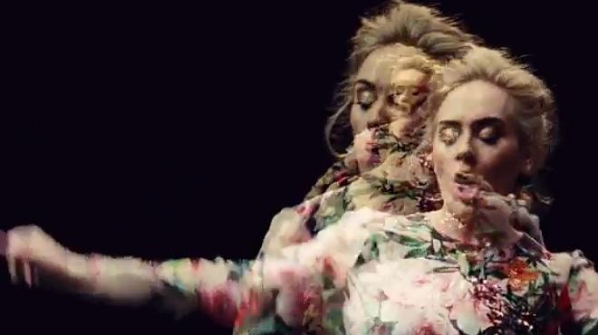 Adele es multiplica fins a l'infinit en el seu nou videoclip