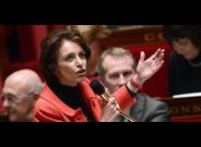 Touraine se dirige a los diputados en una sesi�n parlamentaria, este martes.