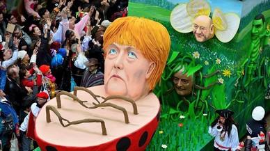 Merkel respon a l'auge de Schulz en els sondejos elevant el to de les crítiques